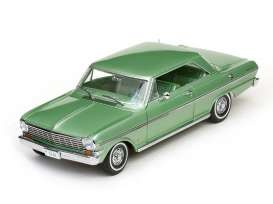 Chevrolet  - 1962 laurel green - 1:18 - SunStar - sun3968 | Tom's Modelauto's