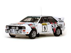 Audi  - 1983 white - 1:18 - SunStar - sun4230 | Tom's Modelauto's