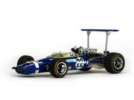 Lotus  - 1968 blue - 1:43 - Quartzo - vss27803 | Tom's Modelauto's
