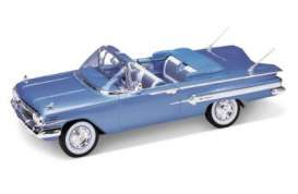Chevrolet  - 1960 blue - 1:18 - Welly - 19864b - welly19864b | Toms Modelautos