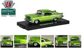 Chevrolet  - 1957 green - 1:64 - M2 Machines - 11228-21-1 - M2-11228-21-1 | Toms Modelautos