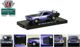 Plymouth  - 1971 blue-purple - 1:64 - M2 Machines - 11228-26-3 - M2-11228-26-3 | Toms Modelautos