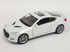 Hyundai  - 2015 white - 1:34 - Welly - 43668 - welly43668 | Tom's Modelauto's