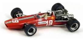 McLaren  - 1967 red - 1:43 - Spark - s3122 - spas3122 | Tom's Modelauto's