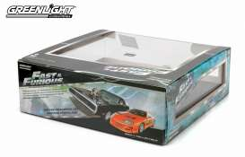 Dodge Toyota - 1970 black/orange - 1:43 - GreenLight - 86250 - gl86250 | Toms Modelautos