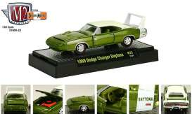 Dodge  - 1969 green/white - 1:64 - M2 Machines - 31600-23-1 - M2-31600-23-1 | Toms Modelautos