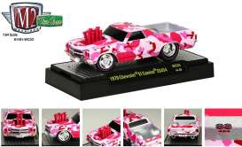 Chevrolet  - 1970 pink - 1:64 - M2 Machines - 81161WC03pk - M2-81161WC03pk | Toms Modelautos