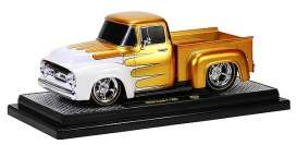 Ford  - 1956 gold - 1:24 - M2 Machines - 40300-38gd - M2-40300-38gd | Toms Modelautos