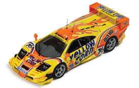 McLaren  - 2002 yellow/orange - 1:43 - IXO Models - gtm091 - ixgtm091 | Tom's Modelauto's