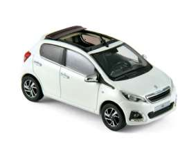 Peugeot  - 2014 white/red - 1:43 - Norev - 470181 - nor470181 | Toms Modelautos