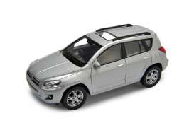 Welly - Toyota  - welly43640s : 1/34-39 Toyota RAV 4, silver