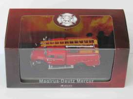 Magirus Deutz  - Mercur red - 1:72 - Magazine Models - 4144105 - magAT4144105 | Toms Modelautos