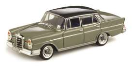 Mercedes Benz  - 1959 grey/graphit grey - 1:43 - Vitesse SunStar - 28701 - vss28701 | Toms Modelautos