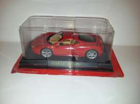 Ferrari  - 2010 red - 1:43 - Magazine Models - MagFer458 | Tom's Modelauto's