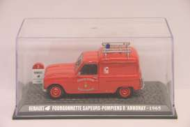 Renault  - red - 1:43 - Magazine Models - RE4annonay - magRE4annonay | Toms Modelautos
