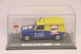 Renault  - blue/yellow - 1:43 - Magazine Models - RE4darty - magRE4darty | Toms Modelautos