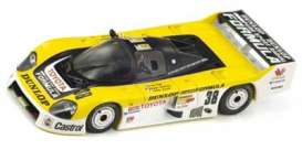 Toyota  - 1986 yellow/white - 1:43 - Spark - s2353 - spas2353 | Tom's Modelauto's