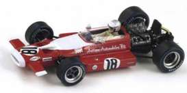 McLaren  - 1969 red/white - 1:43 - Spark - s3126 - spas3126 | Tom's Modelauto's