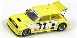 Renault  - 1981 yellow - 1:43 - Spark - s3856 - spas3856 | Tom's Modelauto's