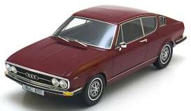 Audi  - 1971 dark red - 1:18 - KK - Scale - kk18001r | Tom's Modelauto's