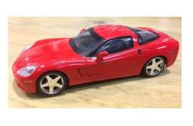 Magazine Models - Chevrolet Corvette - magSCcorZR1 : 2005 Chevrolet Corvette ZR1, red