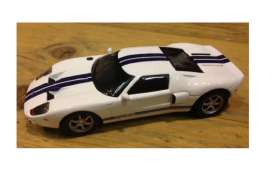 Ford  - 2002 white/blue - 1:43 - Magazine Models - SCfordGT - magSCfordGT | Tom's Modelauto's