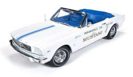 Auto World - Ford  - AW209 : 1965 Ford Mustang convertible Indy 500 Pace Car, white