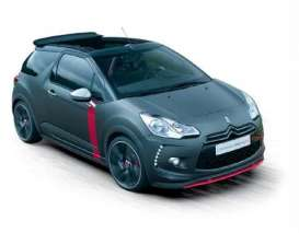 Citroen  - DS3 Cabrio 2013 black - 1:43 - Norev - 155295 - nor155295 | Toms Modelautos
