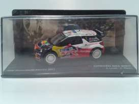 Citroen  - 2011 white/red/blue - 1:43 - Magazine Models - MagRADS3no1-2011 | Tom's Modelauto's