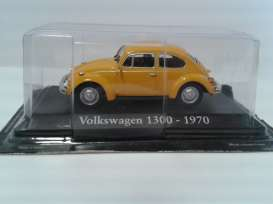 Volkswagen  - orange - 1:43 - Magazine Models - RBA1300 - magRBA1300 | Toms Modelautos