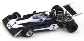 Surtees  - 1972 blue/white - 1:43 - Spark - S4000 - spaS4000 | Tom's Modelauto's