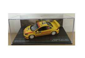 Peugeot  - 2006 yellow - 1:43 - Magazine Models - MagRA307no25 | Tom's Modelauto's