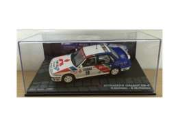 Mitsubishi  - 1989 white/blue - 1:43 - Magazine Models - MagRAGal1989 | Tom's Modelauto's