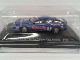 Magazine Models - Renault Alpine - magREv6GT : 1985 Renault Alpine V6GT Turbo #1 Europa Cup Speedy Renault Sport Collection, blue