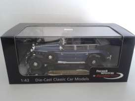 Mercedes Benz  - 1938 blue - 1:43 - Signature Models - sig43700b | Tom's Modelauto's