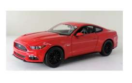Maisto - Ford  - mai31197r : 2015 Ford Mustang, red