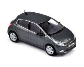 Norev - Peugeot  - nor472812 : 2012 Peugeot 208, grey