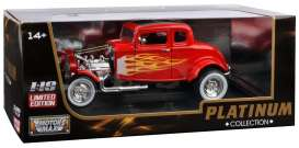 Ford  - 1932 red/yellow - 1:18 - Motor Max - 73172rTDC - mmax73172rTDC | Tom's Modelauto's