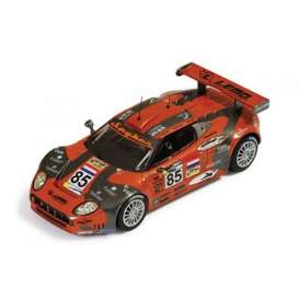 Spyker  - 2007 orange/grey - 1:43 - IXO Models - lmm225 - ixlmm225 | Tom's Modelauto's