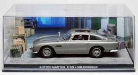 Aston Martin  - grey - 1:43 - Magazine Models - magJBDB5gold | Tom's Modelauto's