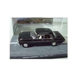Toyota  - Crown S40 *James Bond* black - 1:43 - Magazine Models - JBCrown - magJBCrown | Tom's Modelauto's