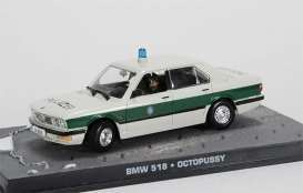 BMW  - 518 white/green - 1:43 - Magazine Models - JBBMW518 - magJBBMW518 | Tom's Modelauto's