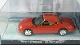 Magazine Models - Ford  - magJBthunDAD : Ford Thunderbird James Bond *Die Another Day*, red-orange