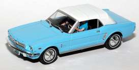 Ford  - Mustang 1964 light blue - 1:43 - Magazine Models - JBMustang-b - magJBMustang-b | Tom's Modelauto's