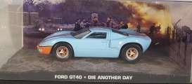 Ford  - GT40 light blue/orange - 1:43 - Magazine Models - JBGT40 - magJBGT40 | Tom's Modelauto's