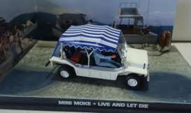 Mini  - white/blue - 1:43 - Magazine Models - JBMoke - magJBMoke | Toms Modelautos