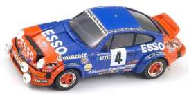 Porsche  - 1982 blue/orange - 1:43 - Spark - s4026 - spas4026 | Tom's Modelauto's