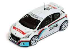 IXO Models - Peugeot  - ixram555 : 2013 Peugeot 208 T16 R5 P. Andreucci Test Car, white/red
