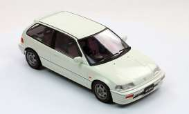 Triple9 Collection - Honda  - T9-1800104 : 1987 Honda Civic EF-3 Si *Diecast Sealed Body Series*, white