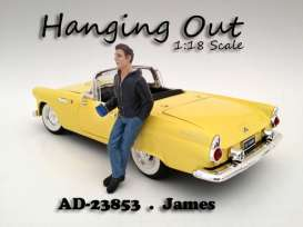 American Diorama - Figures  - AD23853 : 1/18 *Hanging Out* James